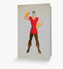 Gaston LeGume Greeting Card