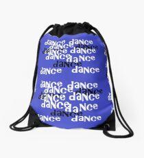 dance on purple Drawstring Bag