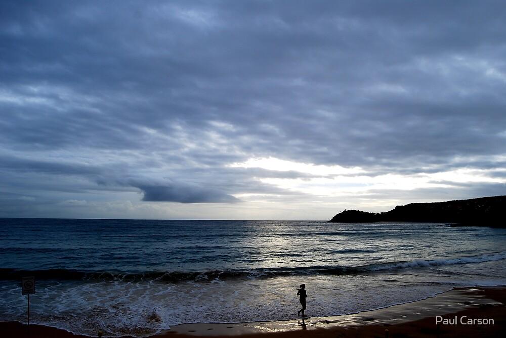 Beach Run by Paul Carson