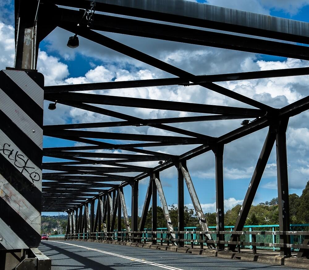 pont et nuages...bridge and clouds. Lismore. by RickinNR