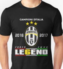 Juve Campioni  Ditalia 2016/2017 Unisex T-Shirt