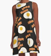 Eggs & Bacon A-Line Dress