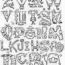 Backward Alphabet by Will Wood