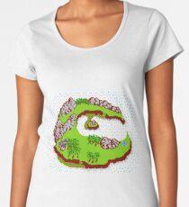 StarTropics - C Island Women's Premium T-Shirt
