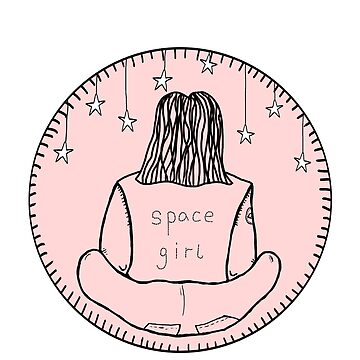 Space Girl Stars Patch by odetospace