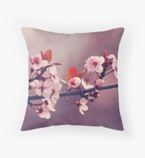 Soft side of Spring III Throw Pillow