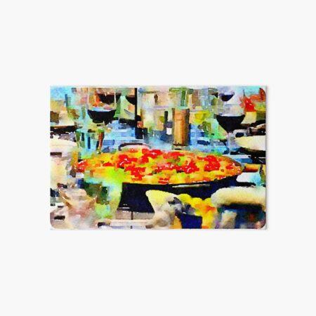 Paella Art Board Print