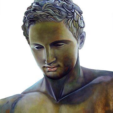 Apoxyomenos - Greek Statue by matteopaints