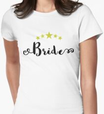 5 star bride Womens Fitted T-Shirt