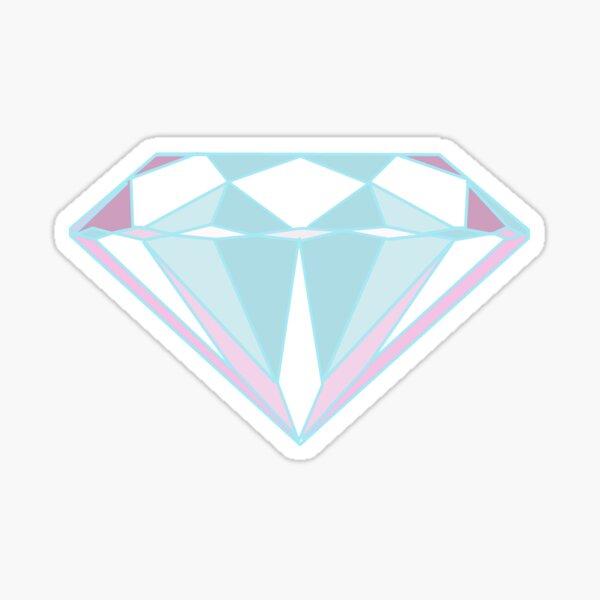 Light Diamond Sticker