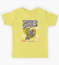 Super Shock Bros 3 Kids Tee