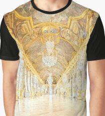 Camiseta gráfica Salón de los espejos de Versalles