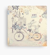 Honey Bunny Canvas Print