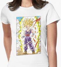 Dragon Ball Z - Gohan Manga Shirt Womens Fitted T-Shirt