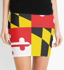 MARYLAND FLAG Mini Skirt