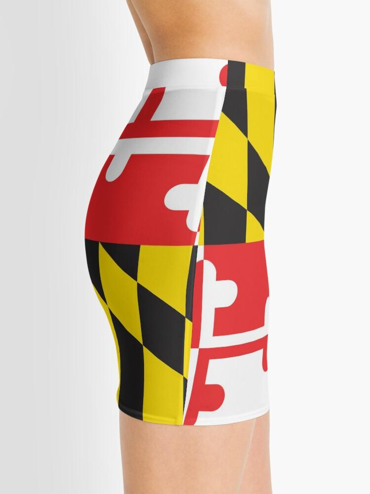 Alternate view of MARYLAND FLAG Mini Skirt
