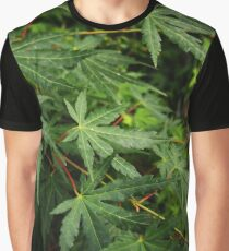 Japanese Maple Leaves in Spring Graphic T-Shirt