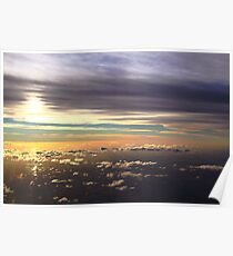 Sunset over Patagonia Poster