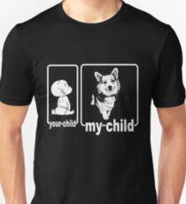 My Child Is A Corgi Dog T-Shirt