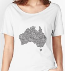 Australia Women's Relaxed Fit T-Shirt