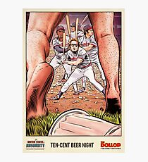 The United States of Absurdity - Ten Cent Beer Night Photographic Print