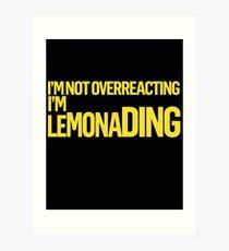 Lemonading (Titus) Art Print