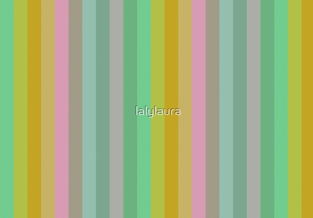Pastel stripes pattern by lalylaura