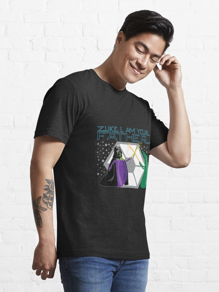 Alternate view of Veggie Wars Essential T-Shirt