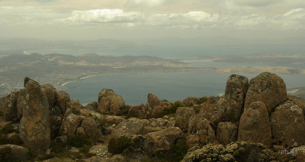 Mount Wellington to the Sea by retsilla