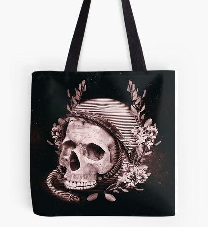 Astro Skull Tote Bag