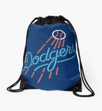 dodgers baseball Drawstring Bag