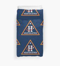houston astros triangles Duvet Cover