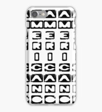 Americano iPhone Case/Skin
