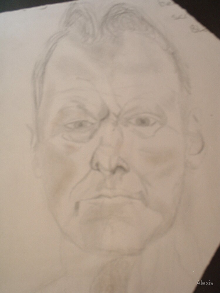 Lucian Freud by Alexis