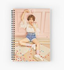 chaeyoung signal twice Spiral Notebook