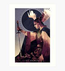 Die Walküre (The Valkyrie) Art Print