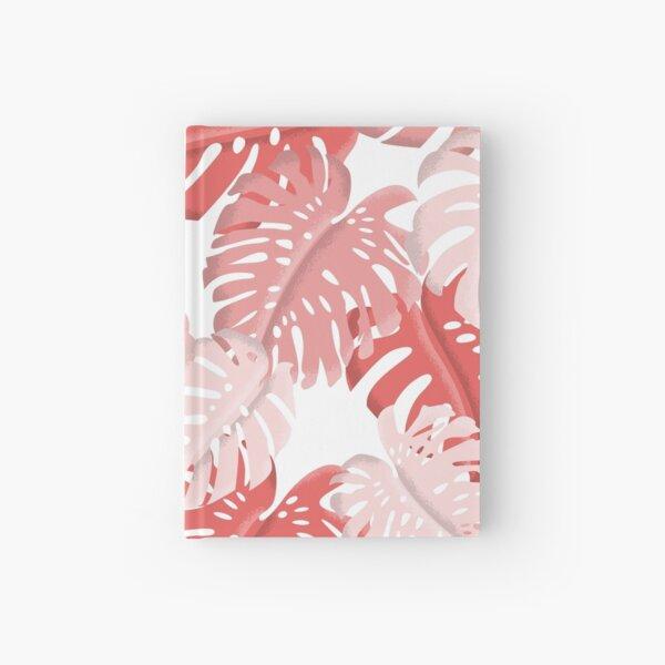 Tropical Monstera Print Hardcover Journal