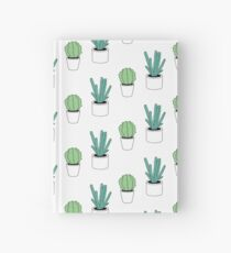 Green Cactus Print Hardcover Journal