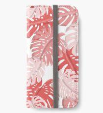 Tropical Monstera Print iPhone Wallet/Case/Skin