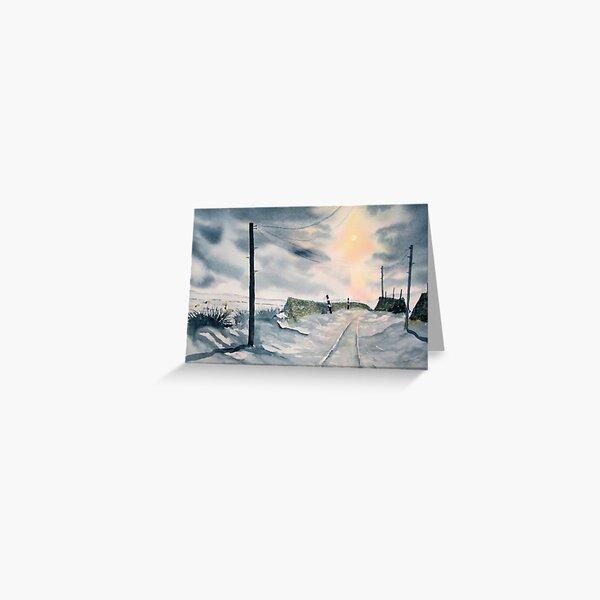 """December Dawn"" Greeting Card"