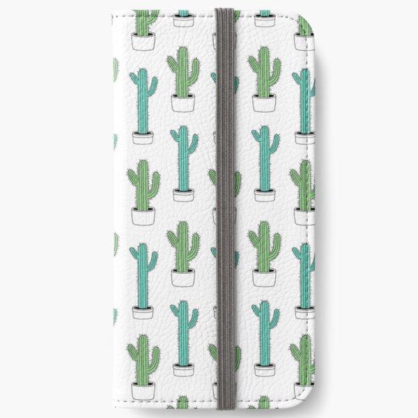 Cactus Print iPhone Wallet