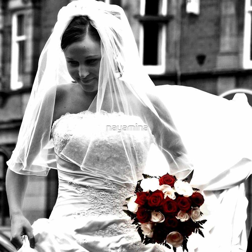 brides arrival by nayamina