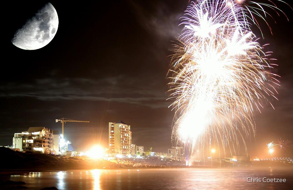 Diaz Fireworks by Chris Coetzee
