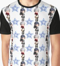 KHuX Pattern - Skuld, Ephemer and Lux Graphic T-Shirt