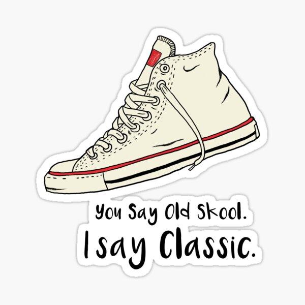 Old Skool Classic Sticker