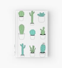 Multi Cactus Print  Hardcover Journal
