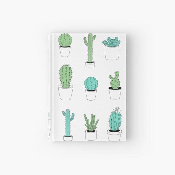 Multi Cactus Print  Hardcover Journal