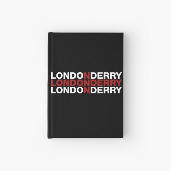 Londonderry United Kingdom Flag Shirt - Londonderry T-Shirt Hardcover Journal