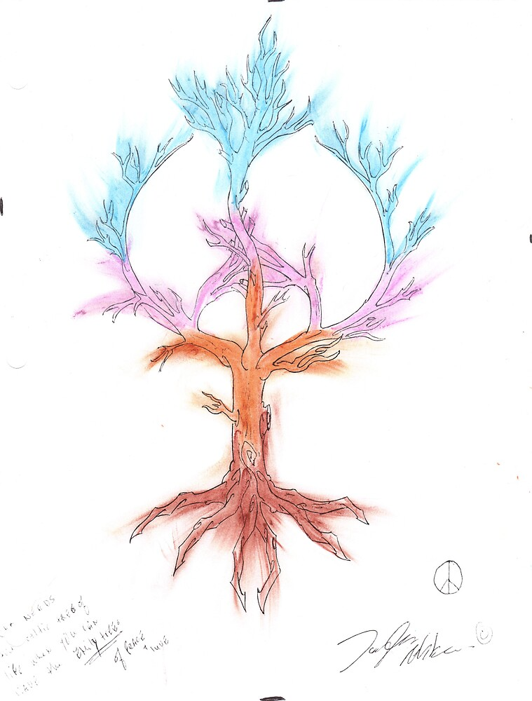 pastel tree  by taylor abbass