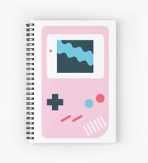 Retro Game Boy Spiral Notebook